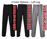 Open Bottom Fleece Pants (Adult and Youth)