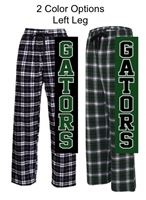 Plaid Flannel Pants (Adult and Youth)