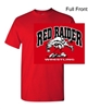 Red Short Sleeve Cotton T-Shirt (Adult and Youth)