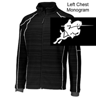 Black Full Zipper Jacket (Adult and Youth)