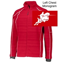 Red Full Zipper Jacket (Adult and Youth)