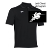 Black Under Armour Performance Polo (Adult and Youth)