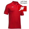 Red Under Armour Performance Polo (Adult and Youth)