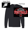 Black Long Sleeve Cotton T-Shirt (Adult and Youth)