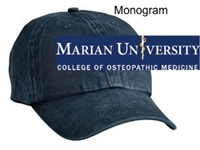 Navy Pigment-Dyed Unstructured Baseball Hat (One Size)