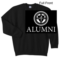 Black Crew Sweatshirt (Adult and Youth)