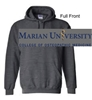 Graphite Heather Hooded Sweatshirt (Adult and Youth)