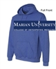 Heather Royal Hooded Sweatshirt (Adult and Youth)