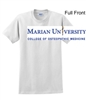 White Short Sleeve T-Shirt (Adult and Youth)