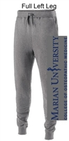 Grey Cotton/Poly Fleece Jogger with Pockets (Adult)
