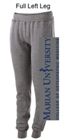 Grey Cotton/Poly Fleece Jogger with Pockets (Ladies)