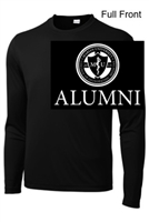 Black Performance Tee - Long Sleeve (Youth and Adult)