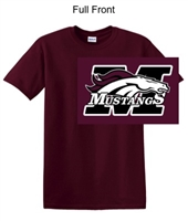 Maroon Short Sleeve T-Shirt (Adult and Youth)