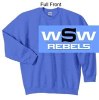 Columbia Blue Crew Sweatshirt (Adult and Youth)