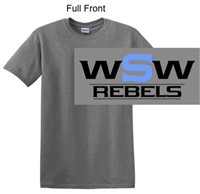 Sport Grey Short Sleeve Cotton T-Shirt (Adult and Youth)