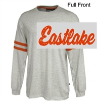 Vintage White Heather with Orange Jersey  (Adult)