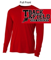 Red Performance Tee - Long Sleeve (Adult)