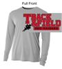 Silver Performance Tee - Long Sleeve (Adult)