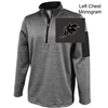Silver Heather Performance 1/4 Zipper Pullover  (Adult)