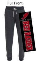 Black Fleece Jogger Sweatpants (Ladies)