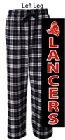 Black and White Flannel Pants (Adult and Youth)