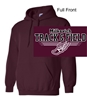 Maroon Hooded Sweatshirt (Adult and Youth)