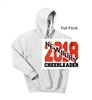 White Hooded Sweatshirt (Adult and Youth)
