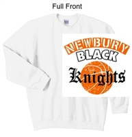 White Crew Sweatshirt (Adult and Youth)