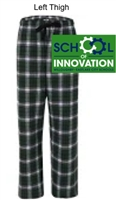 Green and White Flannel Pants (Adult and Youth)