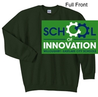Hunter Green Crew Sweatshirt (Adult and Youth)