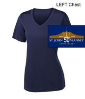 Navy Performance Tee - Short Sleeve (Ladies)