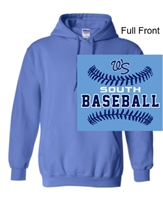 Columbia Blue Hooded Sweatshirt (Adult and Youth)