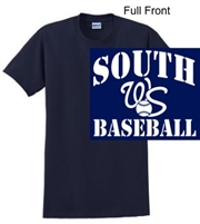Navy Short Sleeve T-Shirt (Adult and Youth)