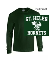 Hunter Green Long Sleeve T-Shirt (Adult and Youth)