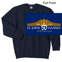 Navy Crew Sweatshirt (Adult)