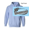 Light  Blue Hooded Sweatshirt (Adult and Youth)