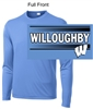 Carolina Blue  Performance Tee - Long Sleeve (Youth and Adult)