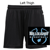 "Black Ladies 5"" Shorts (Ladies)"
