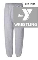 Sport Grey 50/50 Sweatpants (Adult and Youth)