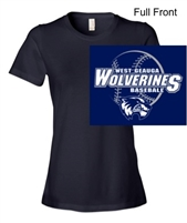 Navy Short Sleeve T-Shirt (Ladies)