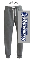 Grey Heather Vintage Cotton Fleece Jogger (Adult)