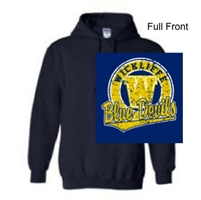 Navy Hooded Sweatshirt (Adult and Youth)