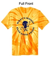 Gold Tie-Dye T-Shirt (Youth and Adult)