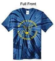 Navy Tie-Dye T-Shirt (Youth and Adult)