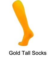 Gold Tall Socks (Adult and Youth)