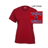 Red Performance Ladies Shirt - Short Sleeve (Ladies)