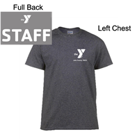 Charcoal Grey Short Sleeve T-Shirt (Adult)