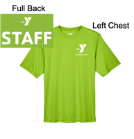 Lime Green Short Sleeve T-Shirt (Adult)