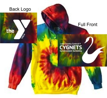 e9cc9f65d Rainbow Tie-Dye Pullover Hoodie (Adult and Youth)