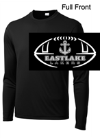 Black Performance Tee - Long Sleeve (Adult and Youth)